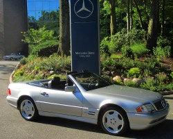 1998 Mercedes SL500 Sport owned by Joe LoFaro.