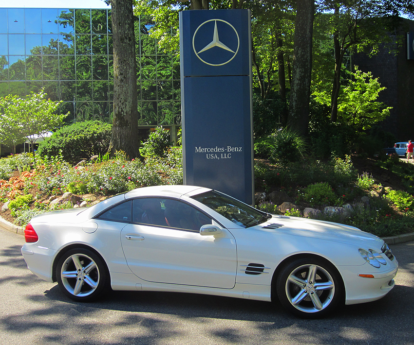 2008 Mercedes SL550 owned by Fred Gwinn.