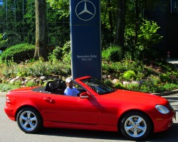 2002 Mercedes SLK230 owned by Paul Reitnauer.