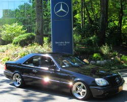 1999 Mercedes CL500 owned by Andre Seojanovic.