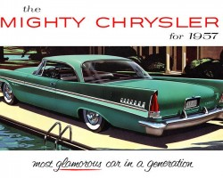 1957 chrysler new yorker ad