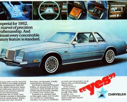 1982 chrysler imperial ad
