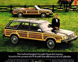 1985 Chrysler LeBaron Town & Country advertisement  (850 x 1136)