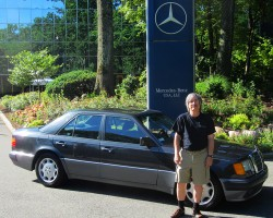 1992 Mercedes 500E owned by Roger Egolf.