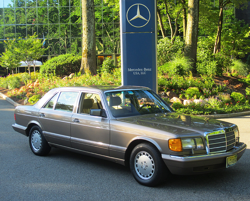 1991 Mercedes 420sel At 2012 June Jamboree In Montvale Nj