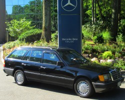 1988 Mercedes 300TE wagon owned by David Lamm.