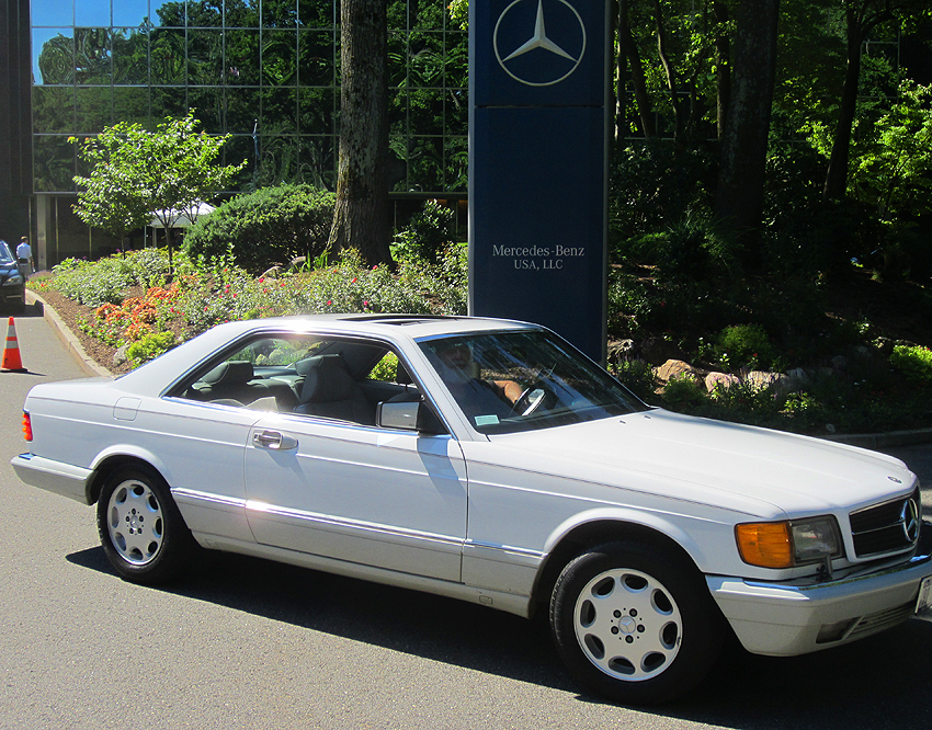 1990 Mercedes 560SEC owned by Jay Hirsch.