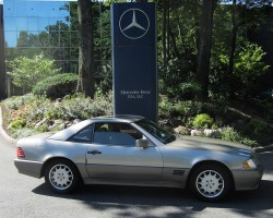1995 Mercedes SL320 owned by Natalie Jason.