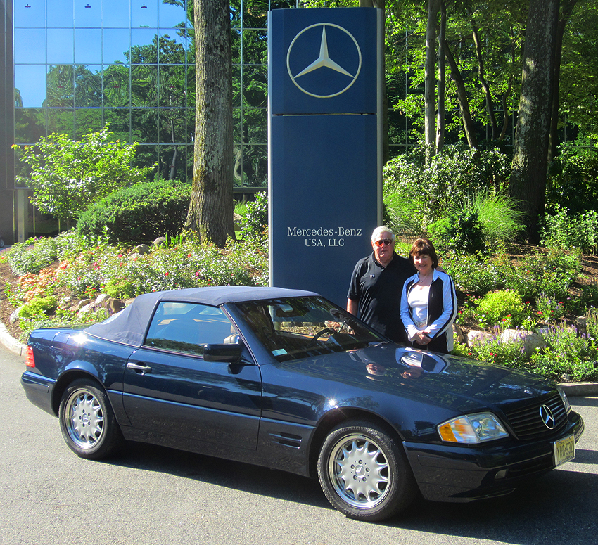 1997 Mercedes SL500 owned by Jerry Alpart.