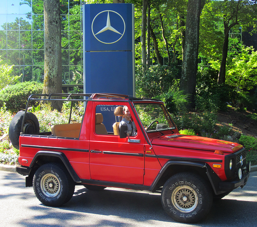 1982 Mercedes G-wagon