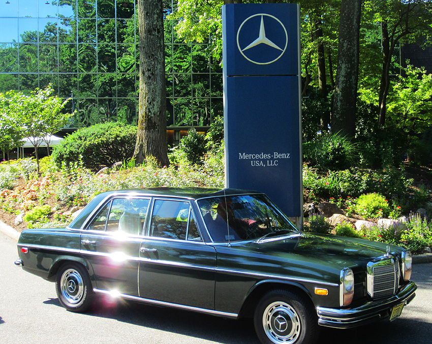 1971 mercedes benz 250 at 2012 june jamboree in montvale for Mercedes benz montvale nj