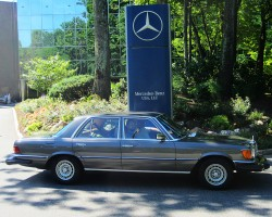 anthracite 1979 Mercedes 300SD