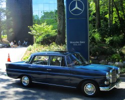 1967 Merceded 230 Finback owned by Pete Weigang.