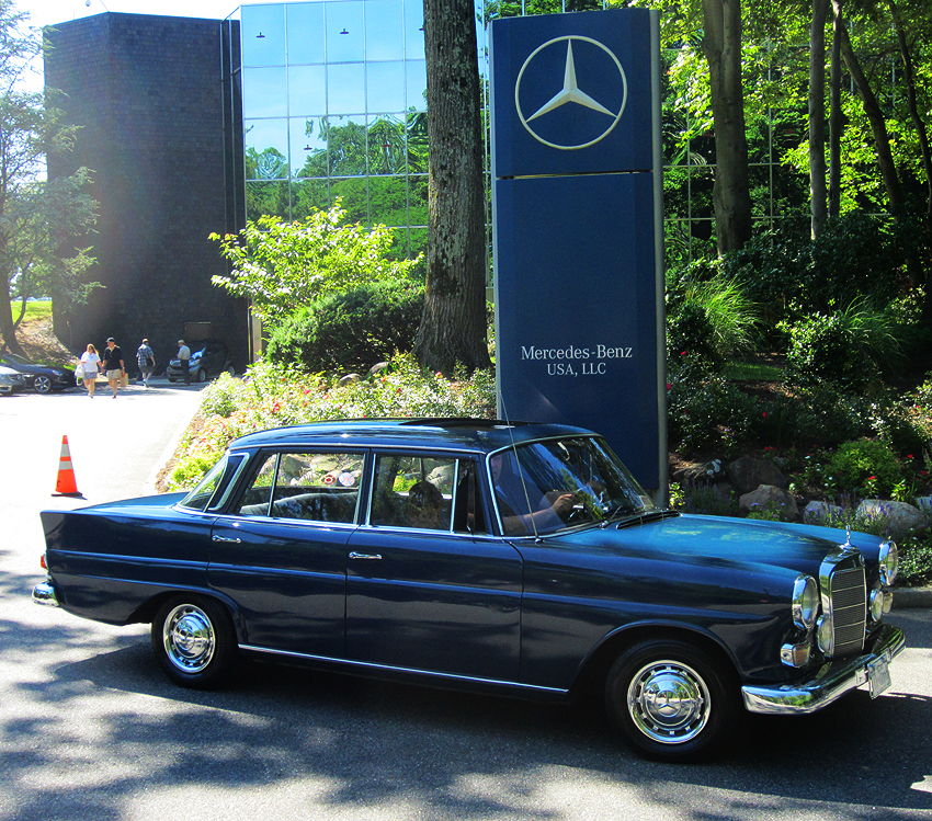 1967 mercedes 230 finback at 2012 june jamboree in for Mercedes benz montvale nj