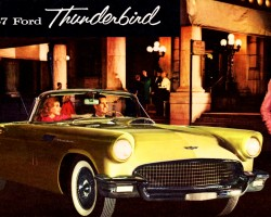 1957 ford thunderbird ad
