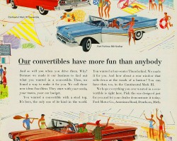 1958 ford ad