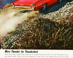 1962 ford thunderbird ad