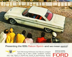 1963 ford falcon ad