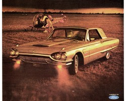 1965 ford thunderbird ad