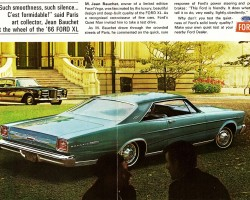 1966 ford galaxie ad