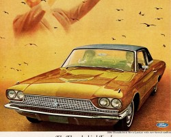 1966 ford thunderbird ad