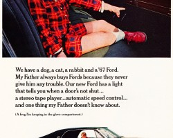 1967 ford ltd ad
