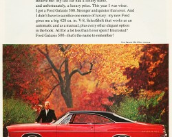 1967 ford galaxie ad