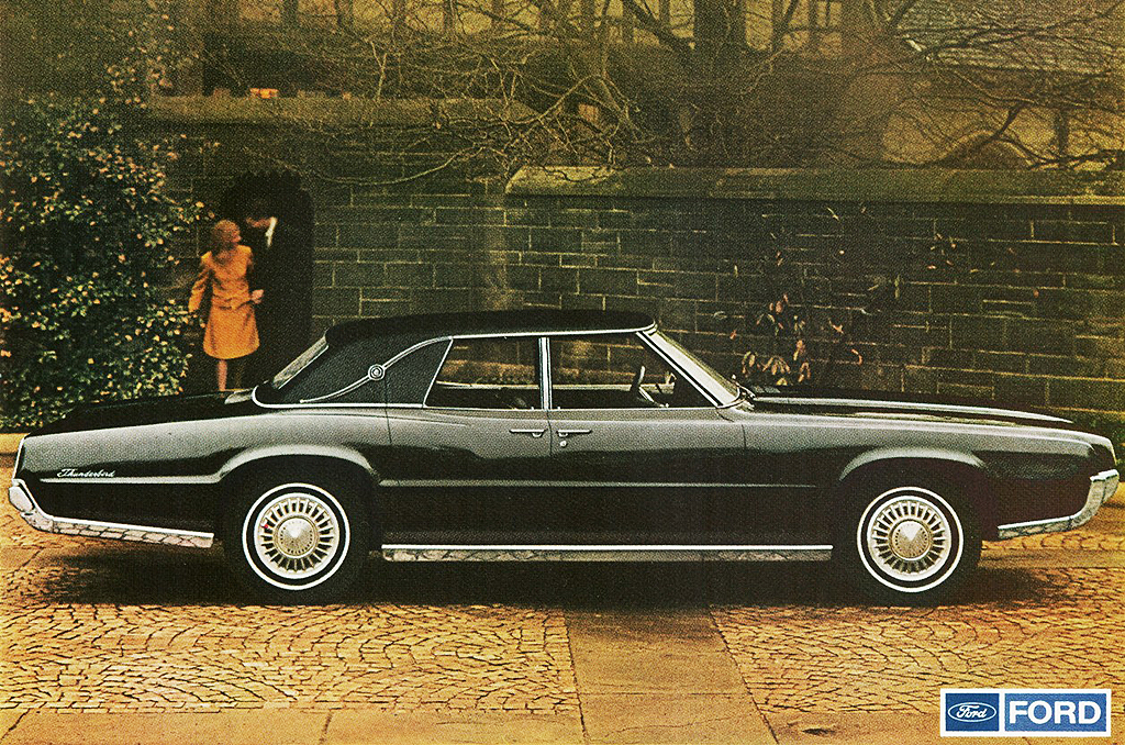1968 Ford Thunderbird 4 Door Promotional Picture