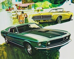 1969 ford mustang ad