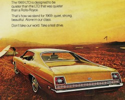 1969 ford ltd ad