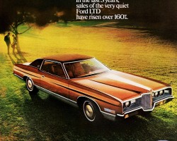 1971 ford ltd ad