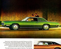 1971 ford thunderbird ad