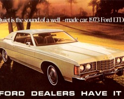 1973 ford ltd ad