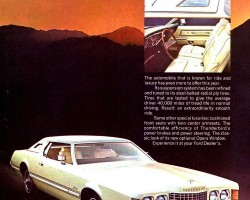 1973 ford thunderbird ad