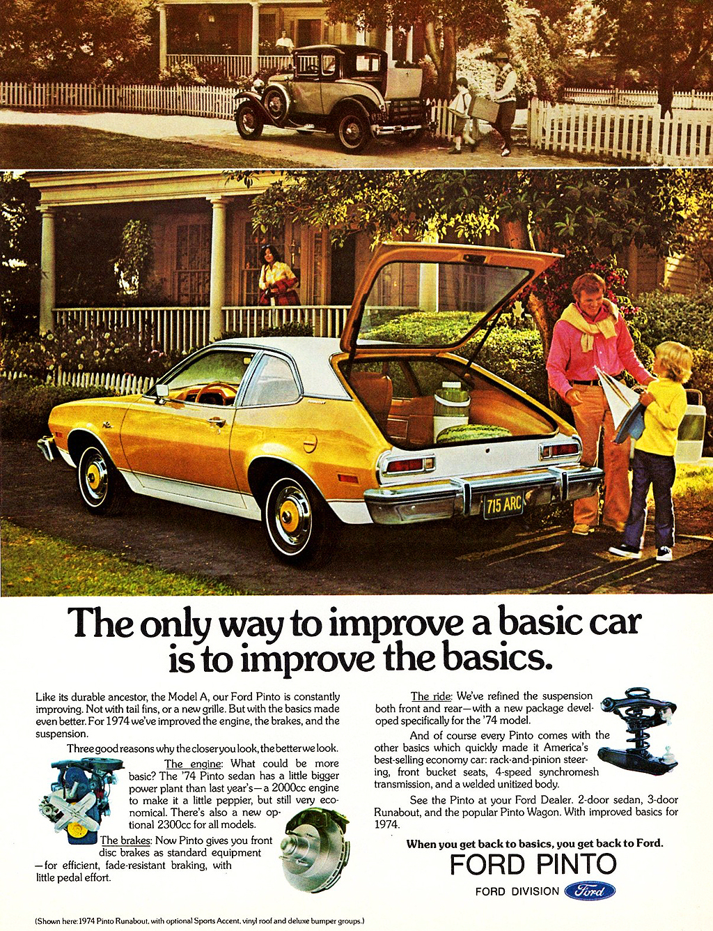 1974 Ford Pinto special edition