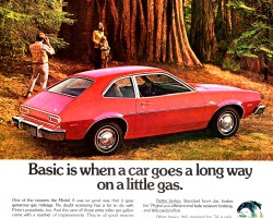 1974 ford pinto ad