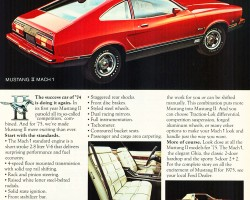 1975 ford mustang ad