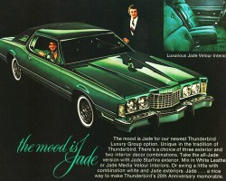 1975 ford thunderbird ad