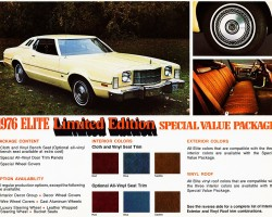 1976 ford elite ad