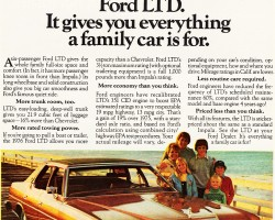 1976 ford ltd ad