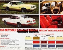 1976 ford mustang ad