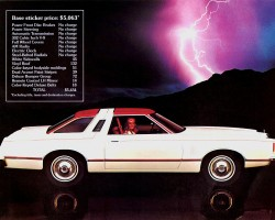 1977 ford thunderbird ad