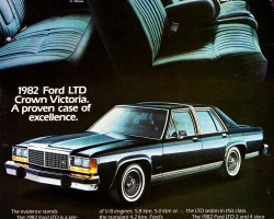 1982 ford ltd ad