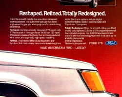 1983 ford ltd ad