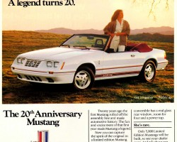 1984 ford mustang ad