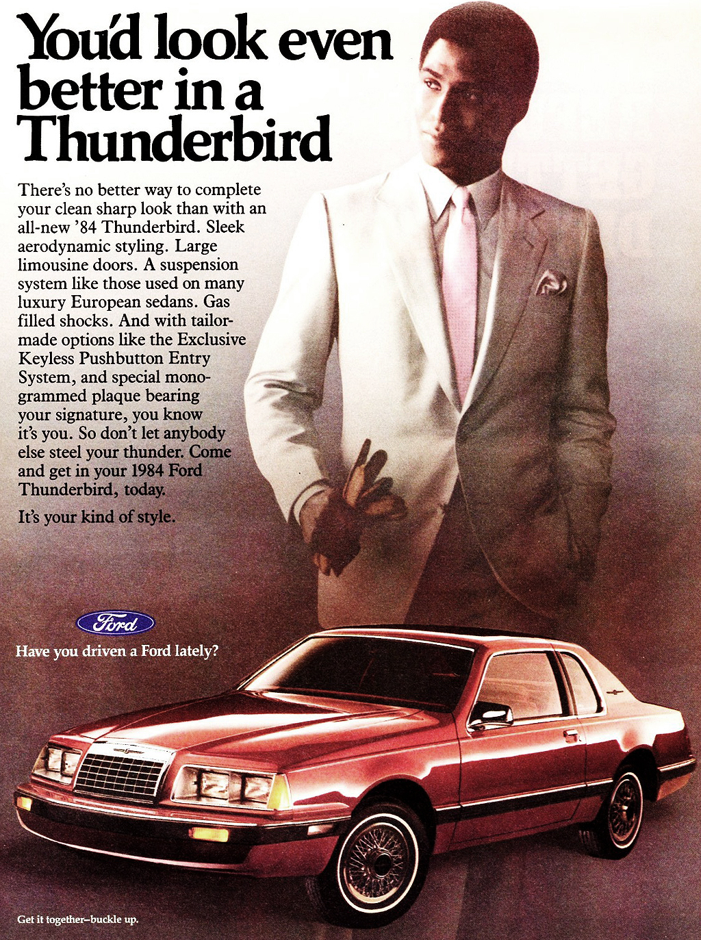 1984 ford thunderbird ad classic cars today online classic cars today online