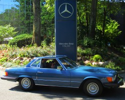 1978 Mercedes 450SL owned by Claude Bennett