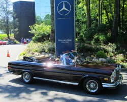 1971 Mercedes 280SE Cabrio owned by David Lipson.