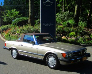 1987 mercedes benz 560sl at 2012 june jamboree in montvale for Mercedes benz montvale nj