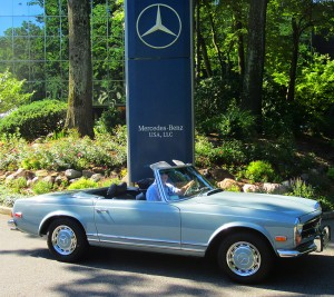 1971 mercedes benz 280sl at 2012 june jamboree in montvale for Mercedes benz montvale nj